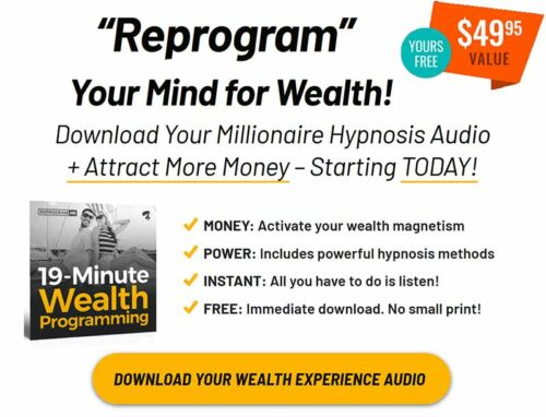 Wealth creation is easy once you have reprogrammed your subconscious