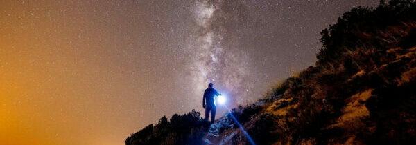 Enlightened beings viewing Earth