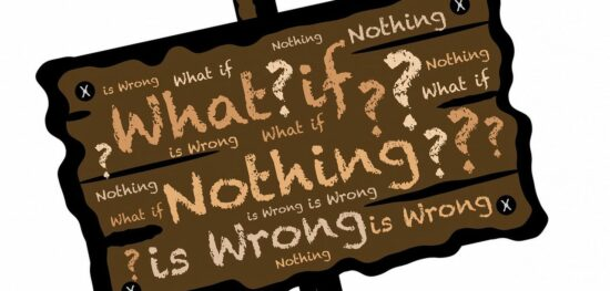 It is only our beliefs that make us question whats going on.
