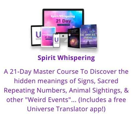 Learn how to hear and understand the quidance from your soul and other spirit guides.