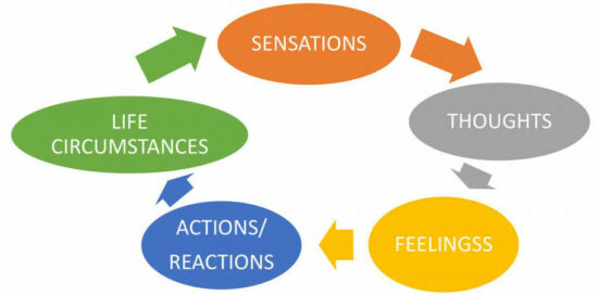 It is our thoughts and feelings that draw matching circumstances into our lives
