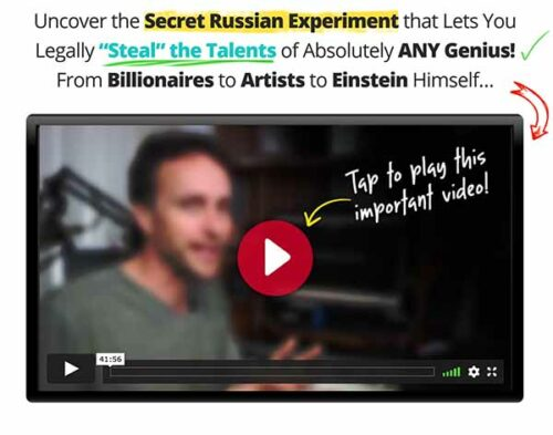 Learn how to steal the genius of anyone!