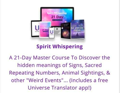 The Spirit Whispering program