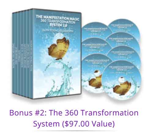 The 360 Transformation System is included as a bonus