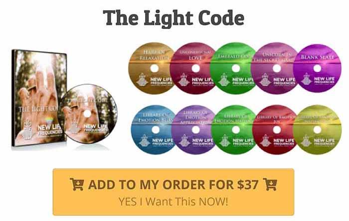 The light Code order link