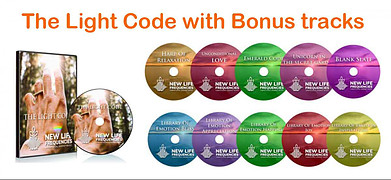 The light code with bonus tracts brain entrainment system