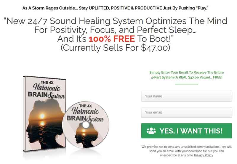 Sacred Sound Healing System Mind Optimization gift