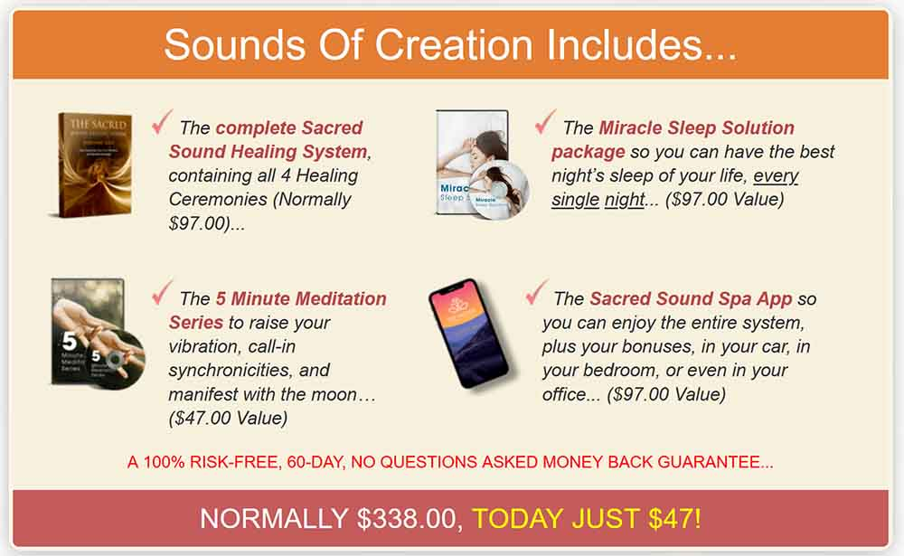 The complete Sacred Sound Healing System Package