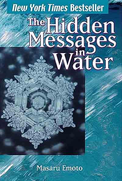 Dr Masaru Emoto water molecule book