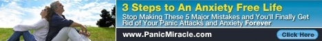 Panic miracle gives you back control of your life