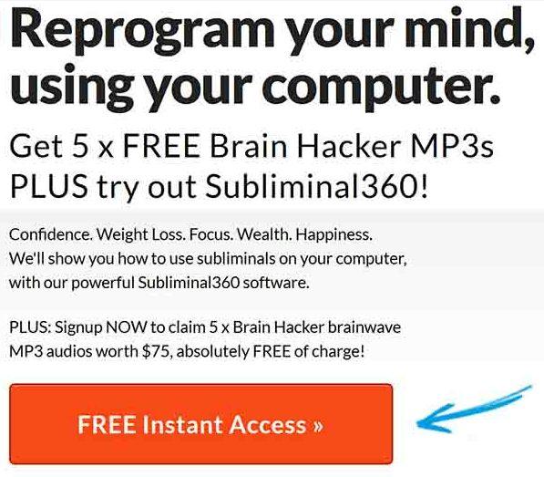 Subliminal 360 Free Gifts Brain Hacker