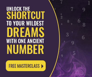 Numerologist ad Unlock your dreams